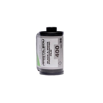 Arista EDU 400 35mm film canister