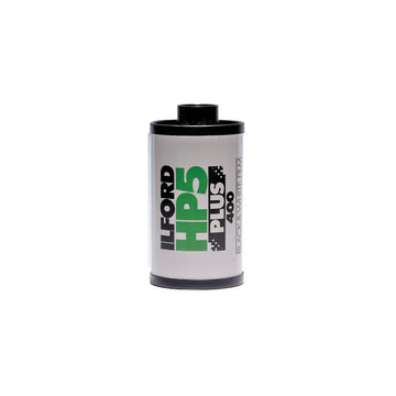 Ilford HP-5 Plus 35mm film canister