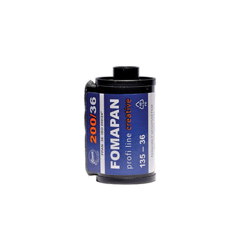 Fomapan 200 35mm film canister