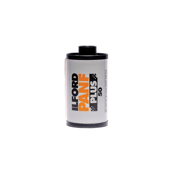 Ilford Pan F Plus 50 35mm Film Canister