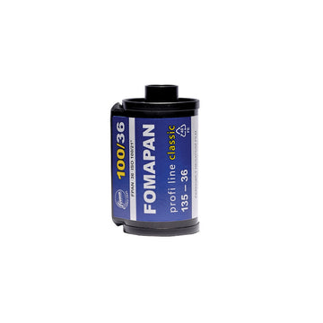 Fomapan 100 35mm Film Canister