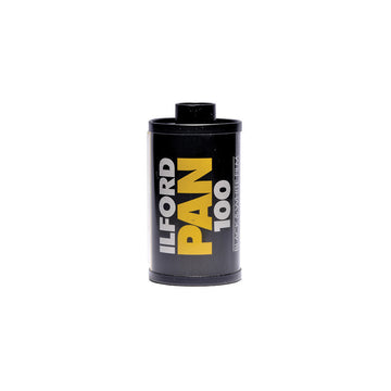 Ilford Pan 100 35mm Film Canister