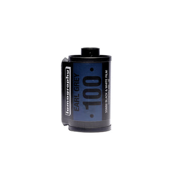 Lomography Earl Grey 100 35mm Film Canister