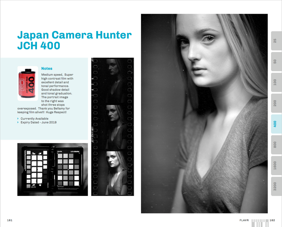 FLAVR example page for Japan Camera Hunter JCH400