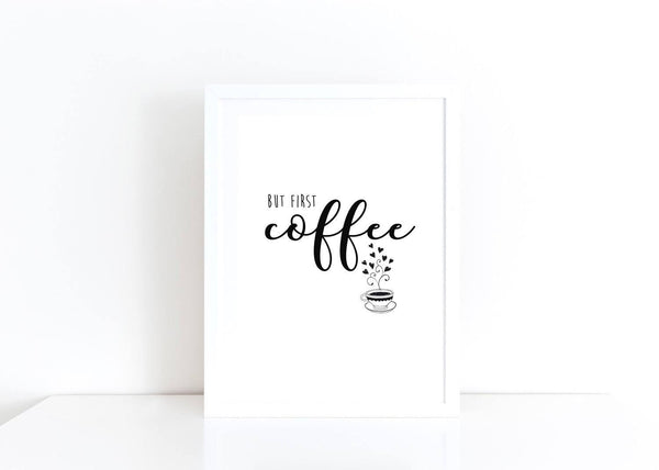 Coffee Quote Pront