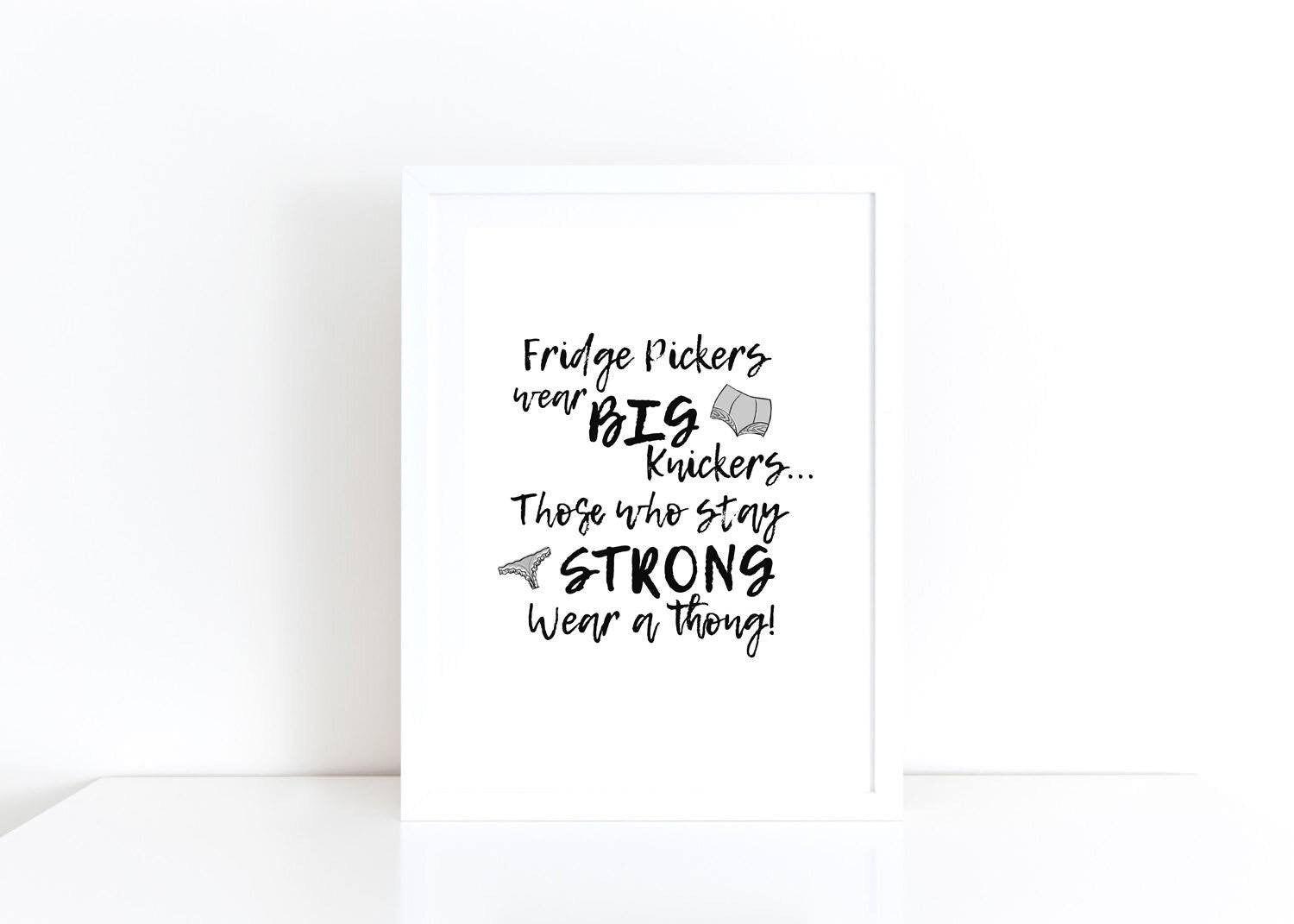 Dieters Motivational Print