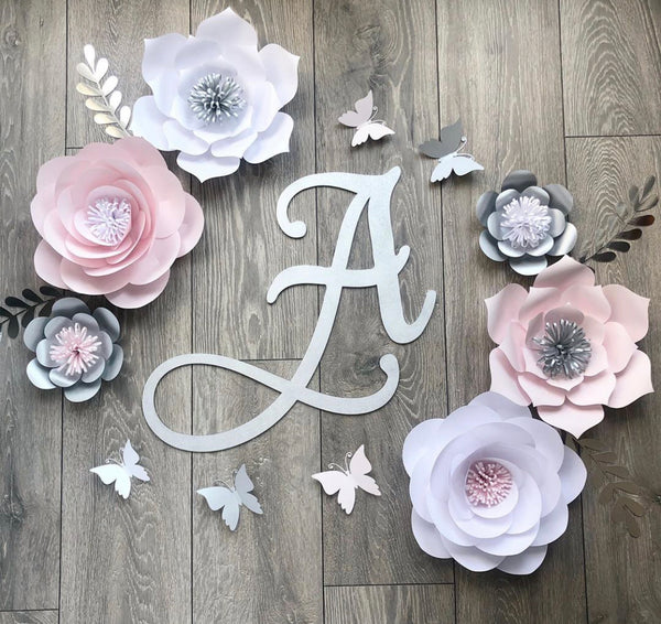 Wooden Initial Name Letter (30cm Height)