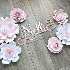 Mila Rose and Flower Paper Flower Set 6 piece