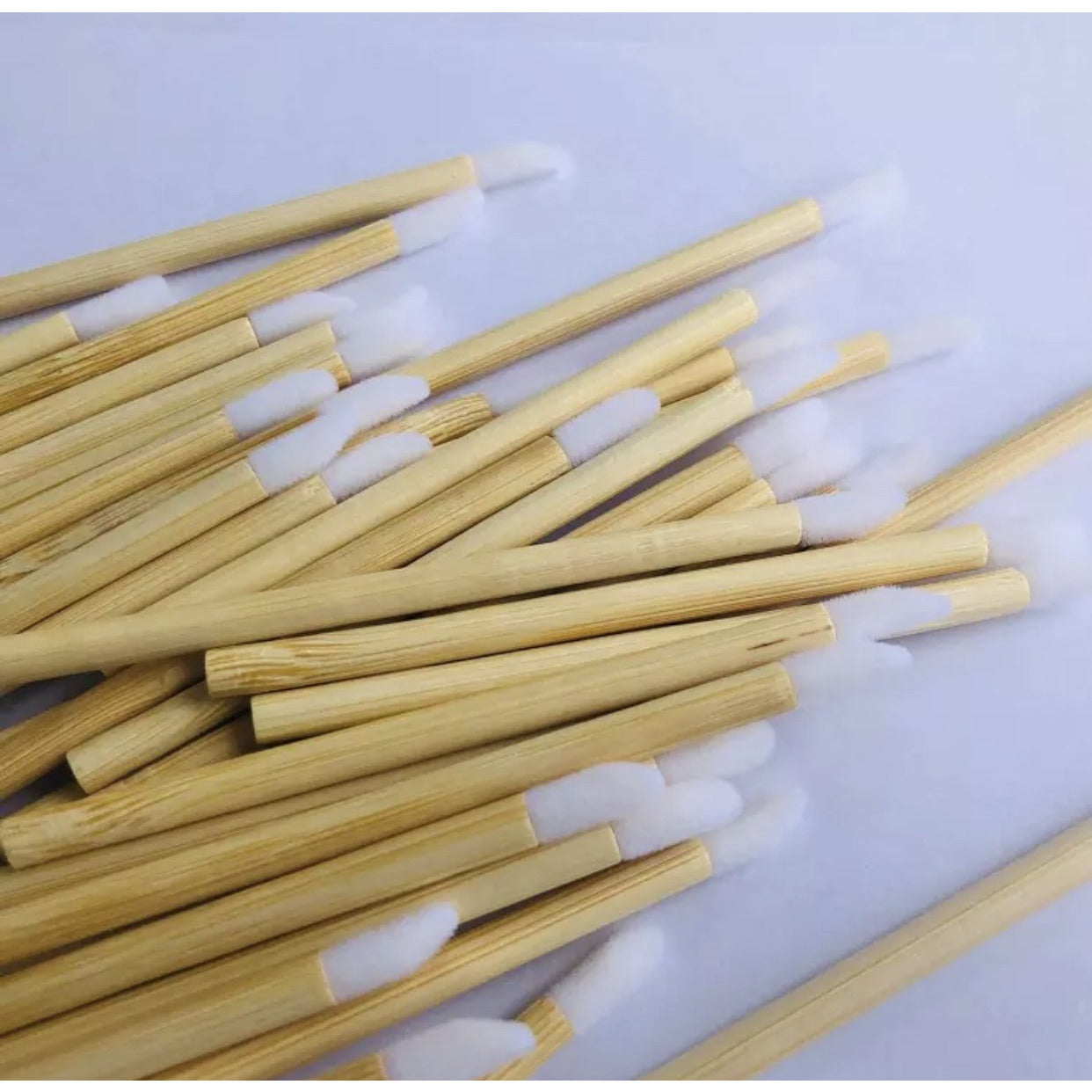 Eco Friendly Bamboo Lip Wands / Lipstick applicators