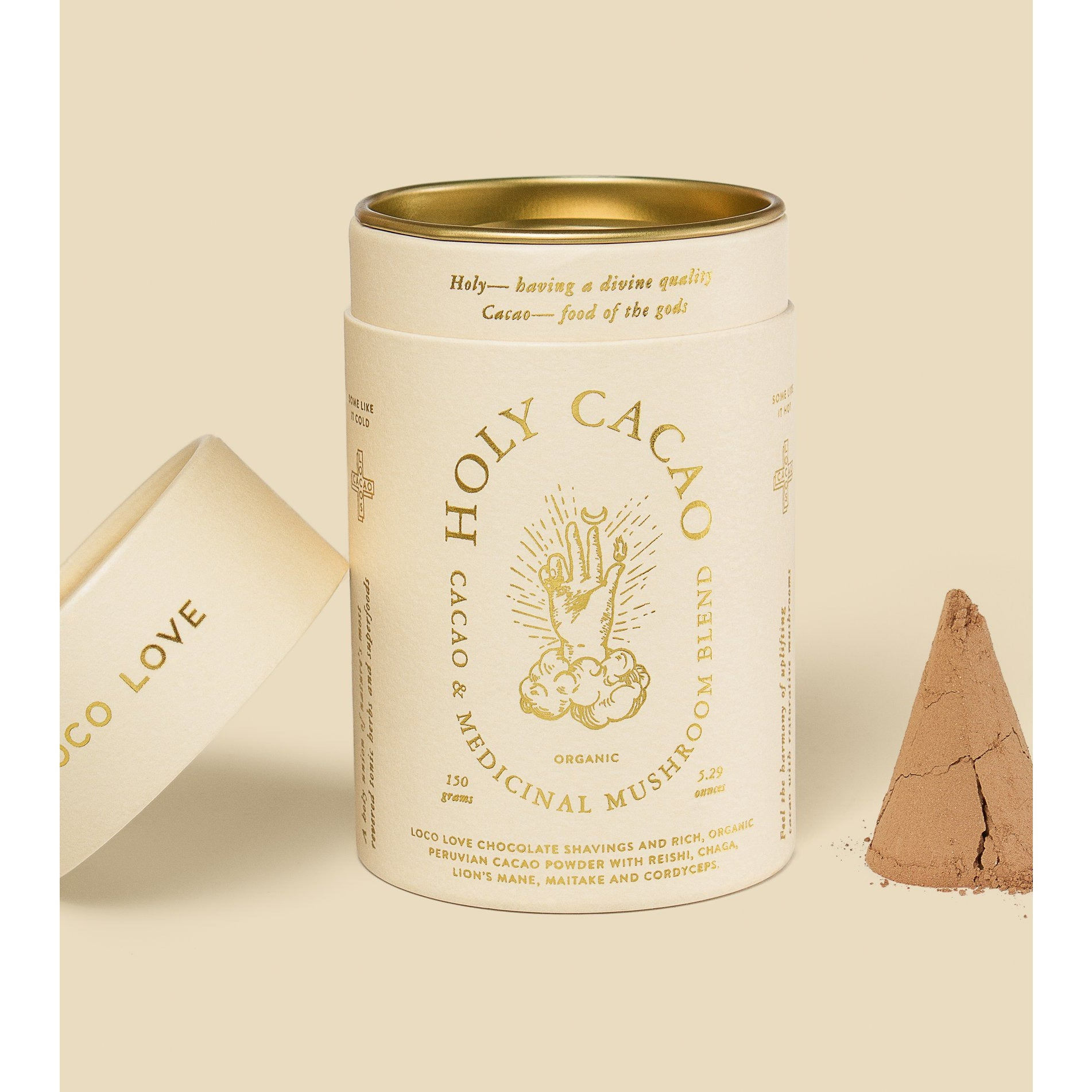 Holy Cacao Hot Chocolate Powder by Loco Love