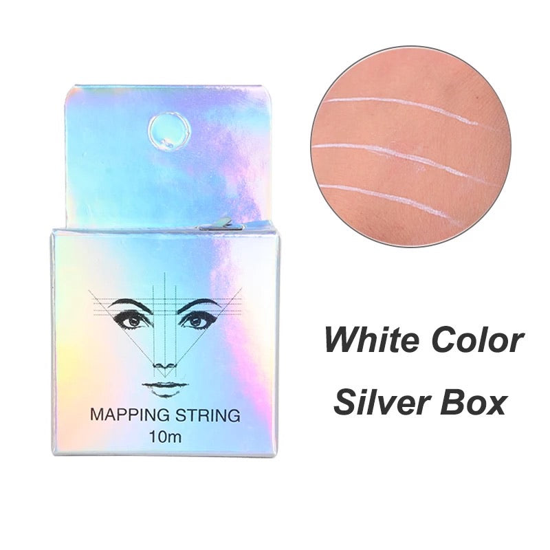 Brow Mapping String: White