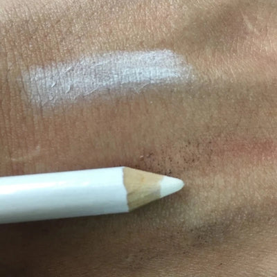 White Eyebrow Mapping Pencil