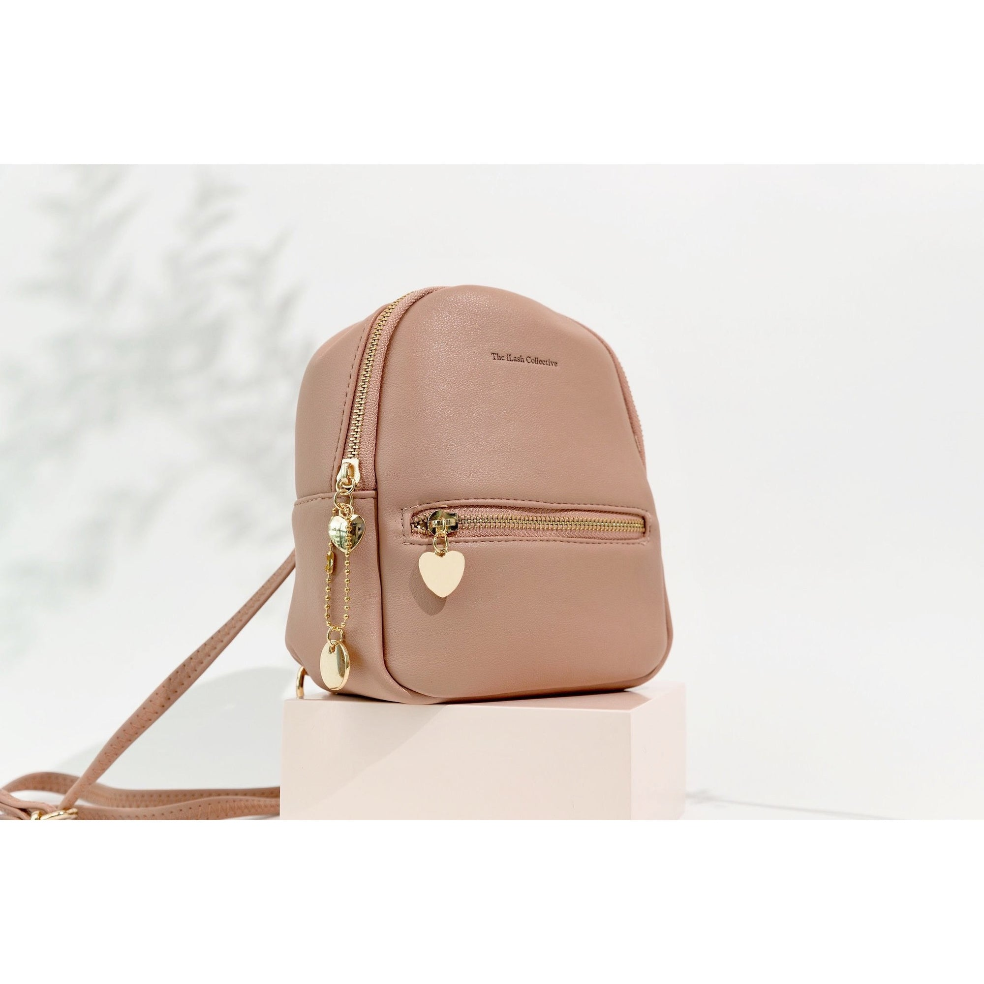 MINI Blush Backpack: Vegan Leather
