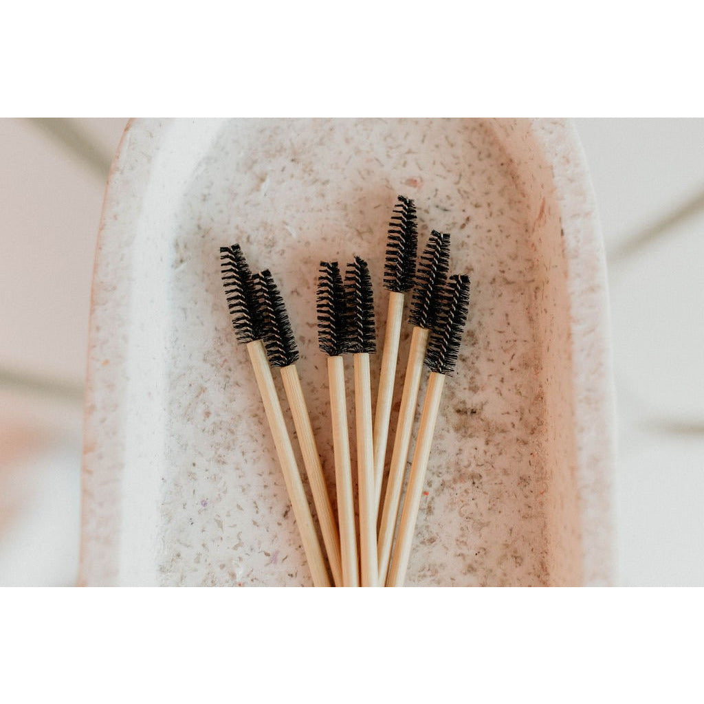 BLACK Eco Friendly Bamboo Mascara Wands