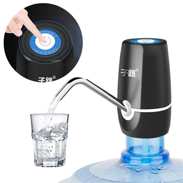 ZILU Home Water Dispenser Pump, USB Charging Automatic Electric Water Pump Portable Drinking Bottles Drinkware Switch Tools