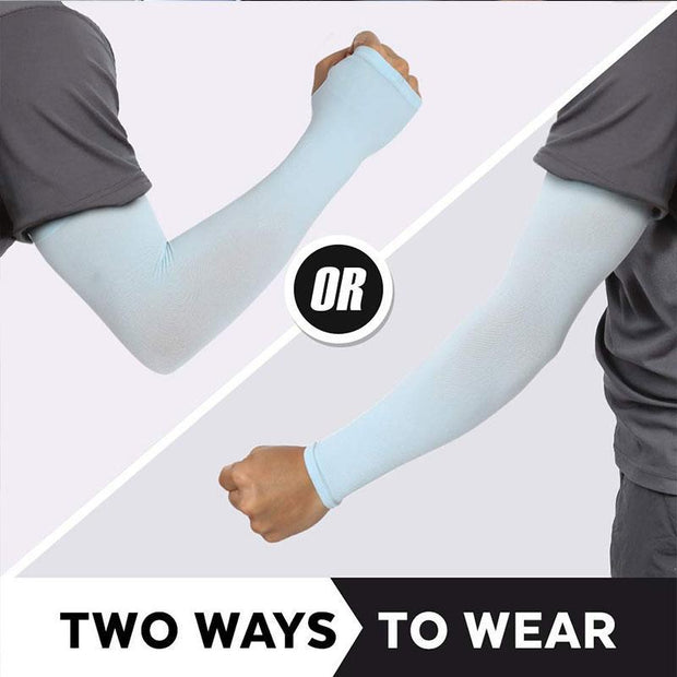 Sunscreen Ice Sleeves (2 Pairs)