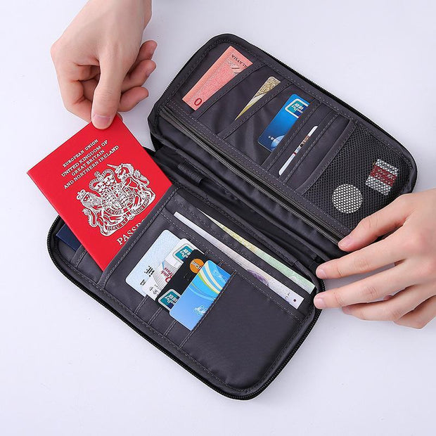 Multifunction Shockproof Travel Passport Storage Bag