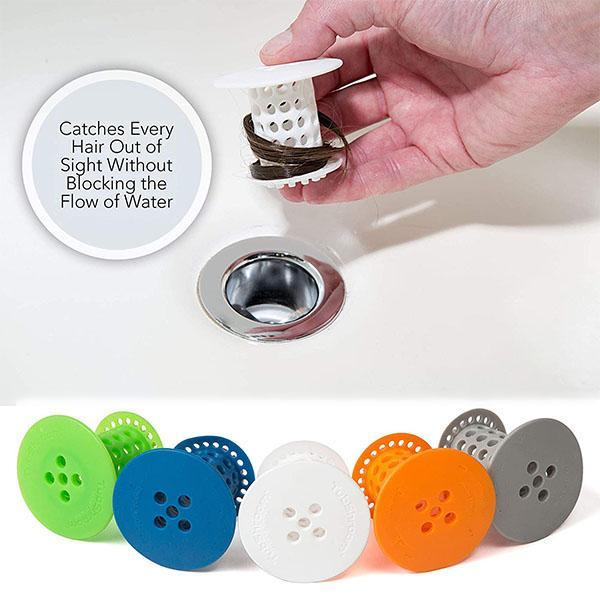 Bathtub drain strainer