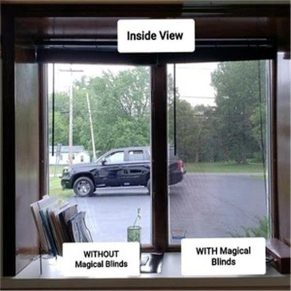 1-way Vision Horizontal Blinds (Applies to Exterior)
