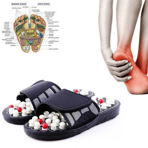 HEALYN™ : Acupressure Foot Massaging Slippers