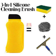 Epongy™ : 3-In-1 Multifunctional Silicone Cleaning Sponge