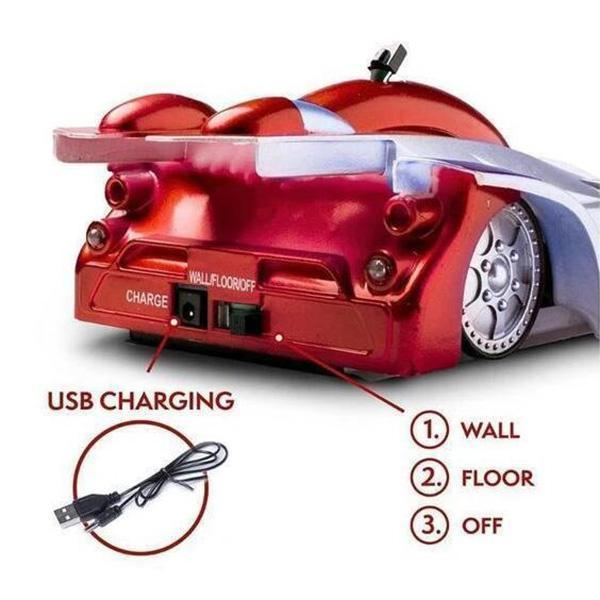 Remote Control Wall Climber Car