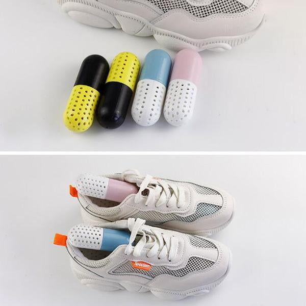 2pcs Moisture Absorber Shoes Deodorant Capsule