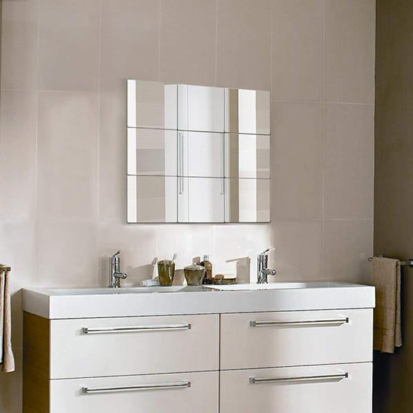Square Mirror Wall Sticker