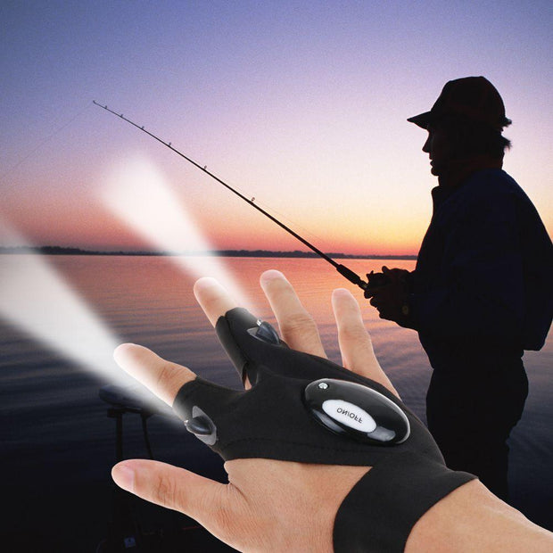 GLOVED™ : LED Flashlight Gloves