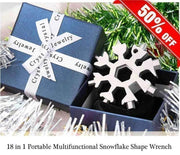 18 in 1 Portable Multifunctional Snowflake Shape Wrench