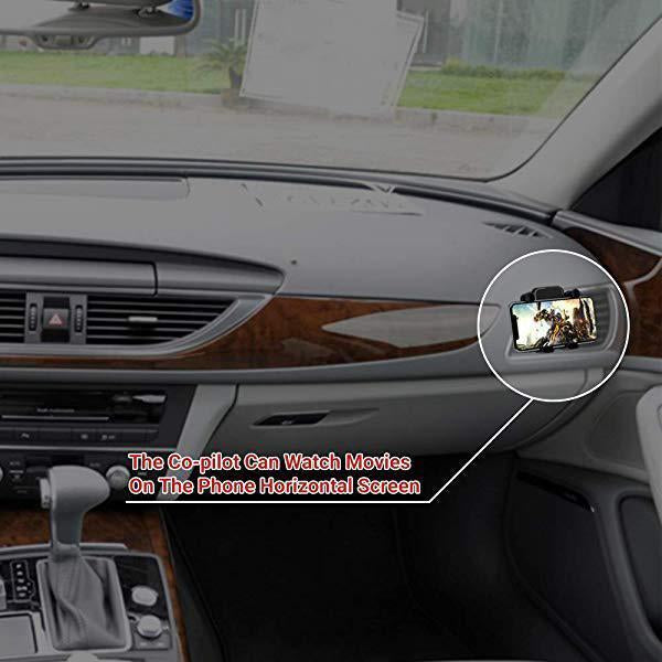 Car Horizontal And Vertical Screen Mobile Phone Bracket