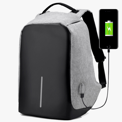 Anti Theft Backpack with USB Charger Port