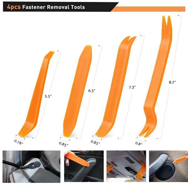240PCS Car Retainer Clips Fastener Remover