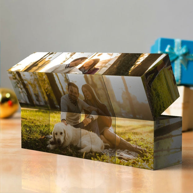 Custom Multi Photo Folding Magic DIY Rubik's Cube Cute Pet