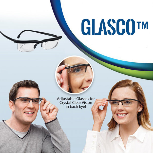 GLASCO™: Adjustable Vision Glasses