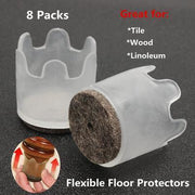 Furniture Feet Floor Protector Caps (10 sets)