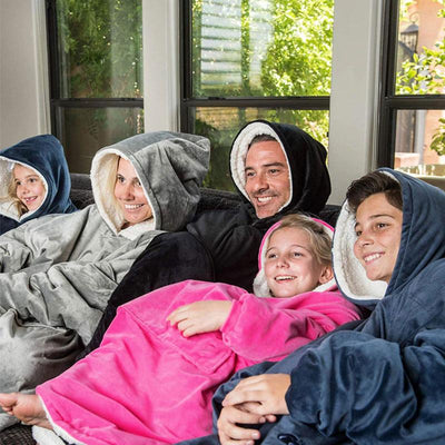 BLANKY™: Blanket Sweatshirt For Adults & Children