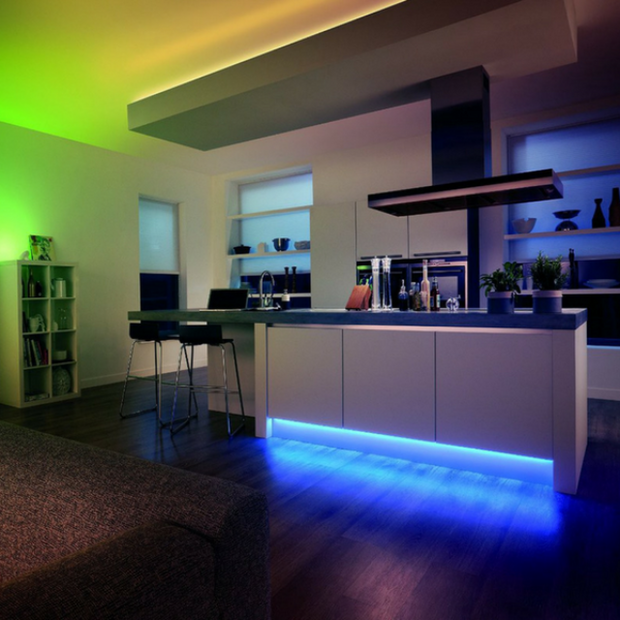 LEDECO™ : Color Changing LED Light Strip with Remote Control (16 Feet)
