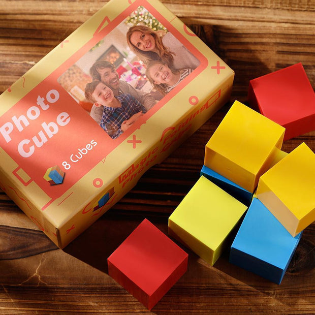 Custom DIY Folding Picture Cube