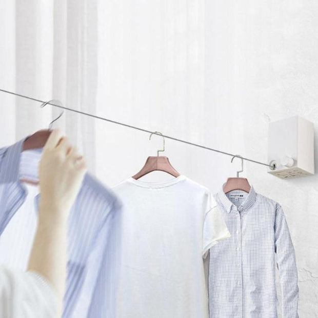 CLODRY™ : Telescopic Stainless String Invisible Clothesline