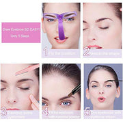 Eyebrow Stencil (1Set)【Free shipping For 3】