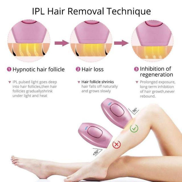 EPILAIR™ : IPL Instant Painless Hair Removal