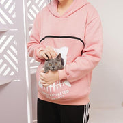 Large Kangaroo Pouch - Cat Pullovers Cuddle Pocket