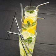 ECOSTRAW™ : Stainless Steel Reusable Drinking Straws
