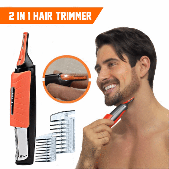 Switchblade Shaver Grooming Remover Hair Trimmer 2 in 1