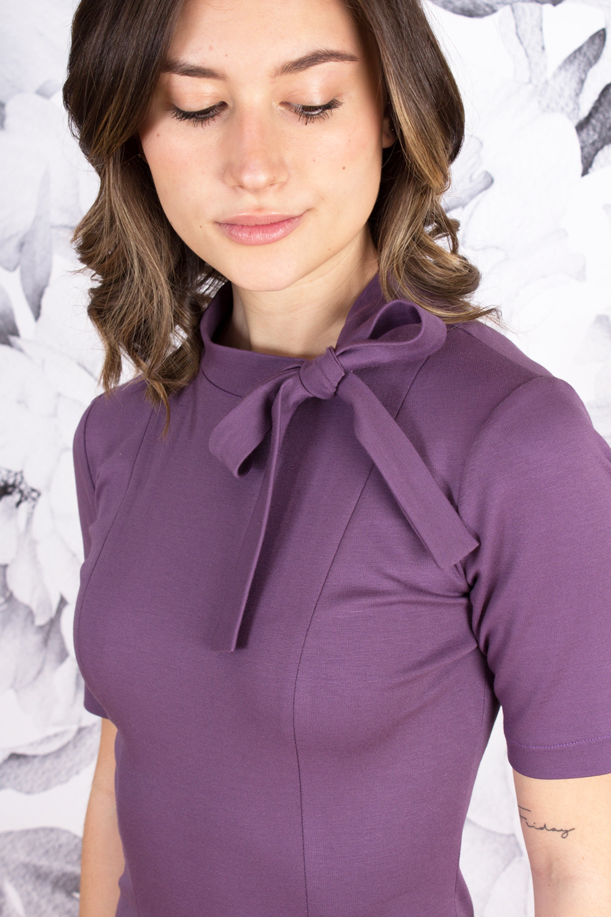 Ivory Cardigan Jacket with Peplum and Square Handkerchief Hem