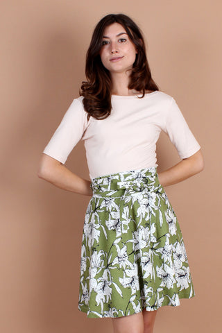 Bamboo Bow Front Dress