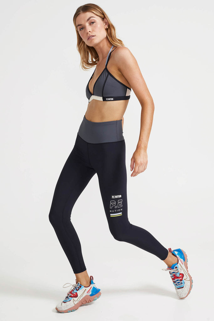 In Goal Legging | Black
