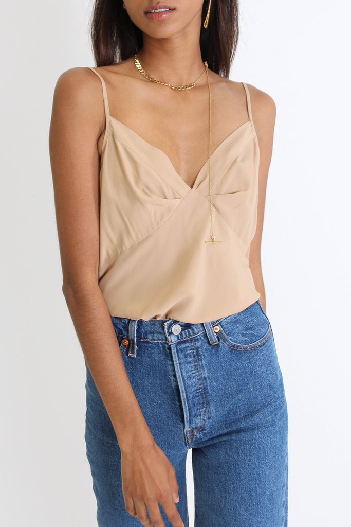 It Was Brief Camisole | Camel - Company Store