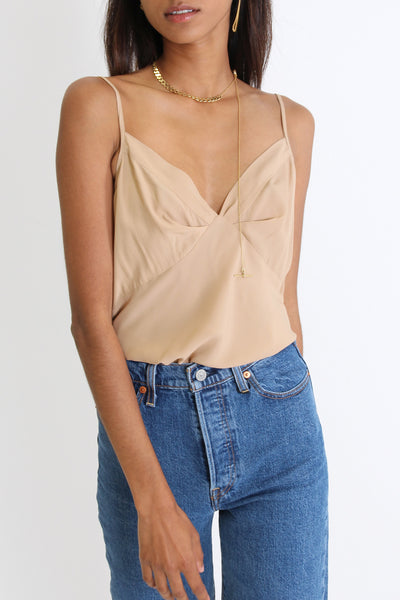 It Was Brief Camisole | Camel